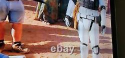 Star Wars Storm Trooper Gloves Episode IX Movie prop original STUNT USED