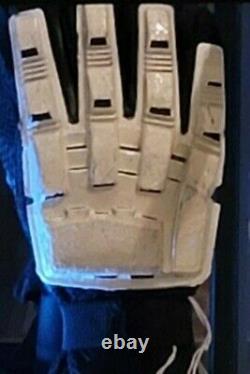 Star Wars Storm Trooper Gloves Episode IX Movie prop original screen used