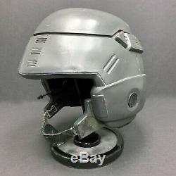 Starship Troopers A Grade Hero Helmet & Chinstrap Original Used Movie Prop