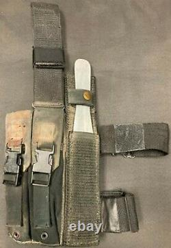Starship Troopers Mobile Infantry Knife Belt with Stunt Knife & COA Screen Used