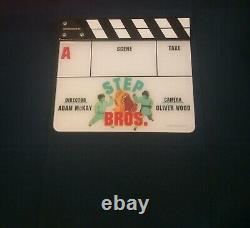 Step Bros. Clapperboard Slate Movie Prop Will Ferrell John C. Reilly Brothers