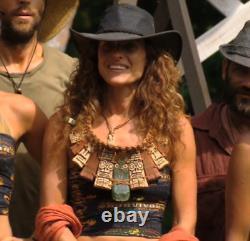 Survivor TV Show Season 20 Heroes vs. Villains Immunity Necklace Prop Replica
