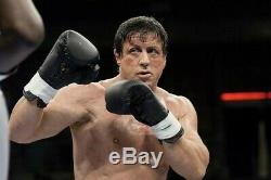 Sylvester Stallone movie prop lot original Rocky Balboa gloves headgear jumprope