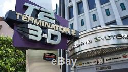 TERMINATOR 2 3-D Universal Studios Theme Park Movie PROP Cyberdyne Systems SIGN