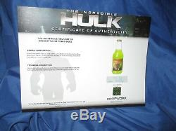 THE INCREDIBLE HULK Pingo Doce Bottle MOVIE PROP (Stan Lee/Avengers) withCOA