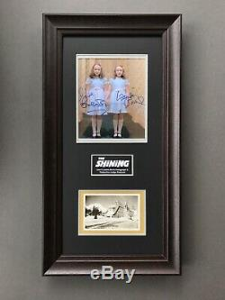 THE SHINING FRAMED SIGNED CUSTOM DISPLAY with Provenance Horror