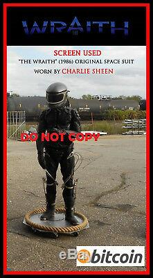 THE WRAITH Charlie Sheen Original SCREEN USED Lifesize Movie Prop car star treck