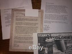 TITANIC MOVIE PROP Grand Staircase Newell face salvaged From The Set in Mexico