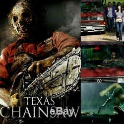 Texas Chainsaw 3D Screen Used Sabertooth Tiger From Van Horror Movie Prop COA