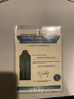 The Godfather 3 Screen Used Movie Prop. Michaels Scarf
