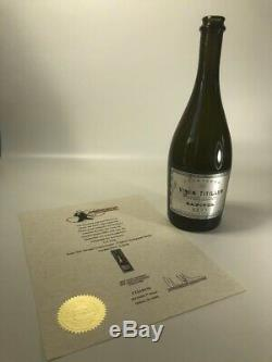 The Hunger Games Movie Prop The Capitol Champagne Bottle Vinum Titillum
