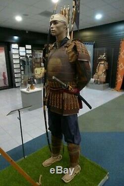 The Last Samurai Complete Samurai Armour Costume and Flag film prop with COAs