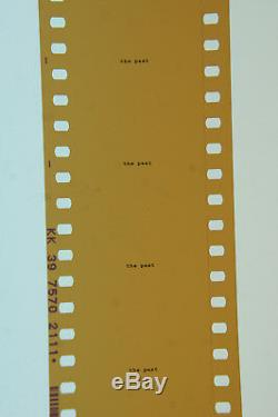 The Matrix 1999 Manex Visual Effects SFX Production 35mm Film reel Movie prop