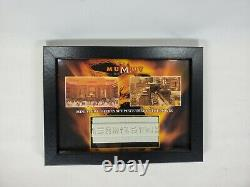 The Mummy Returns Miniature Thebes Set Movie Prop Screen Used very rare