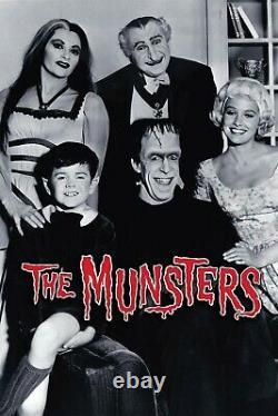 The Munsters TV Show Prop item Memorabilia item A1 Film Collectible