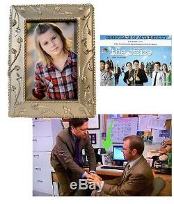 The Office Screen Used Tobys Framed Picture Sasha Prop Screen Matched COA