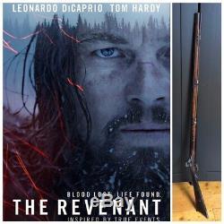 The Revenant Background Rifle Original Movie Prop COA DiCaprio Prop Rifle