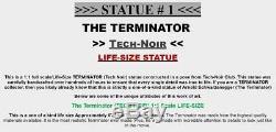 The Terminator LIFESIZE T1 Arnold Schwarzenegger Original 11 Prop Movie Statue
