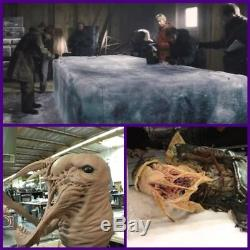 The Thing Bottin screen used movie prop Prequel monster horror prop Halloween