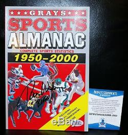 Tom Wilson signed Grays Sports Almanac Prop Back to the Future 2 PSA Beckett JSA