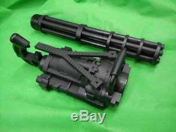 Toy Gatling cosplay costume party rambo movie prop machine gun terminator m134