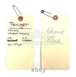 Twilight Edward Cullen Worn Costume Shirt Movie Prop COA Bella Robert Pattinson