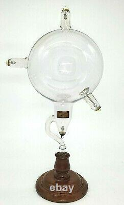 Very Rare Antique 19th Century Crookes Cathode Ray Tube Collectible Movie Prop