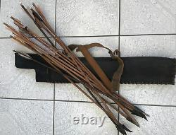Vikings Screen Used Quiver And Arrows Film Movie Prop