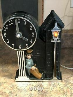 Vintage Mastercraft Happy Time Drunk BACK THE THE FUTURE Movie Prop Clock Video
