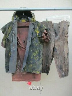 WATERWORLD Movie Prop Wardrobe COMPLETE SMOKER LOT Post Apocalyptic Costume