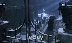 Wow! BATMAN PROP Tombstone, DANNY DEVITO Signed, COA, UACC, DVD, Frame + Easel